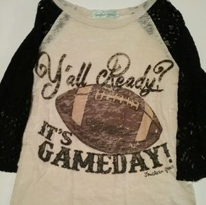 Tops - Southern Grace women's Top size Small Football
